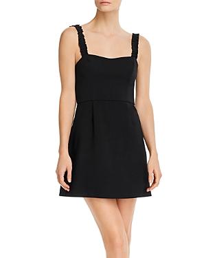 Frill Sleeveless Mini Dress