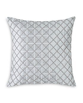 "Charisma - Belaire Square Embroidered Decorative Pillow, 20"" x 20"""