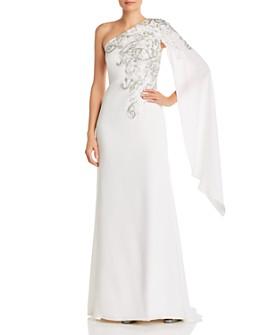Tadashi Shoji - One-Shoulder Sequin-Detail Gown