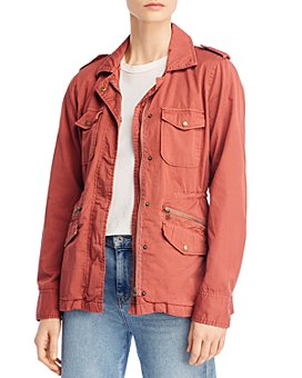 Velvet by Graham & Spencer - Ruby Army Jacket
