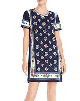 Tory Burch - Printed T-Shirt Dress