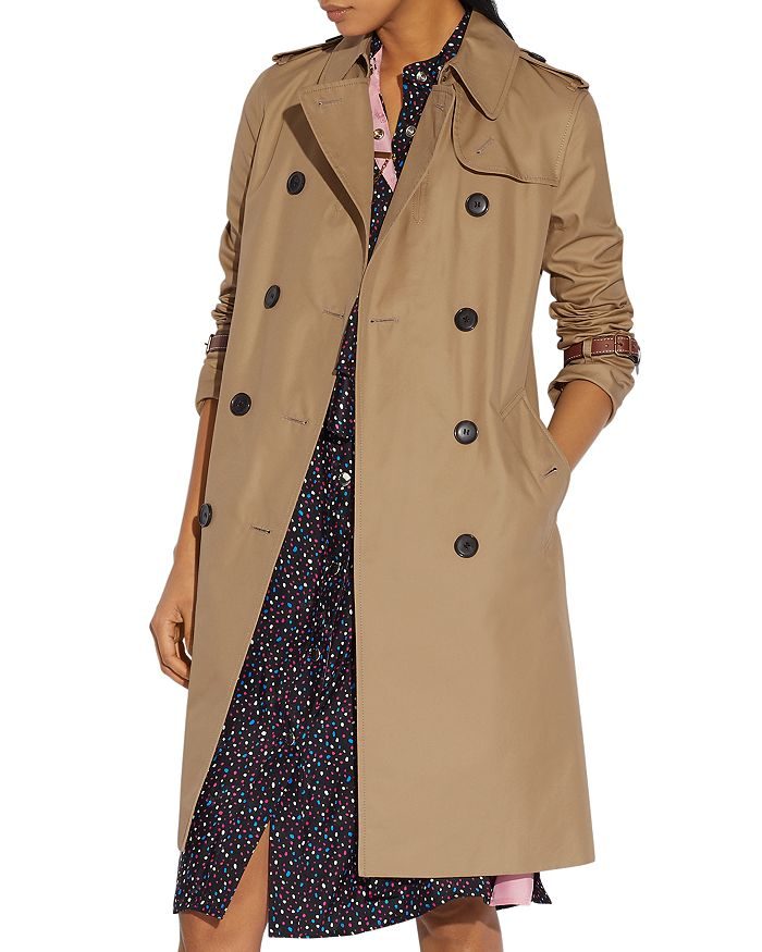 COACH - Icon Double-Breasted Trench Coat