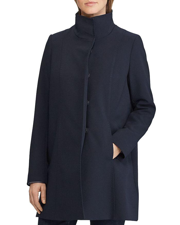 Ralph Lauren - Stand-Collar A-Line Coat