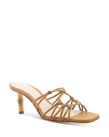 SCHUTZ - Women's Dileni Slip On Strappy High-Heel Sandals