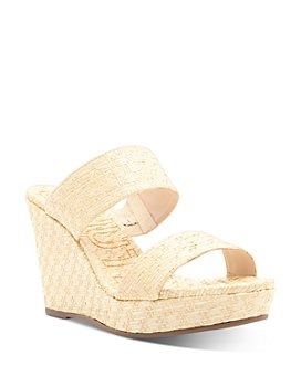 SCHUTZ - Women's Tarla Slip On Wedge Sandals