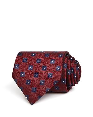 Ermenegildo Zegna Square Florette Silk Classic Tie-Men