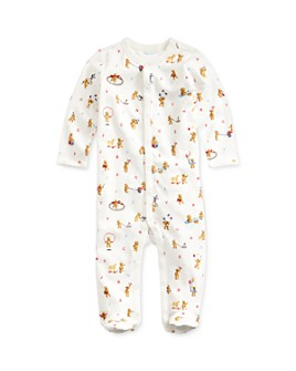 Ralph Lauren - Boys' Cotton Bear-Print Footie - Baby