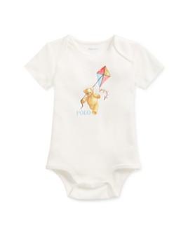 Ralph Lauren - Boys' Cotton Bear-Print Bodysuit - Baby