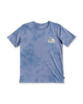 Quiksilver - Boys' Cotton Global Beat Tie-Dyed Tee - Big Kid