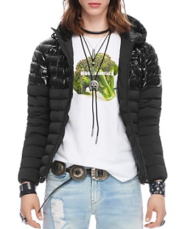Moose Knuckles - Ropper Mixed-Media Jacket