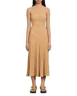 Sandro - Aleane Knit Midi Dress