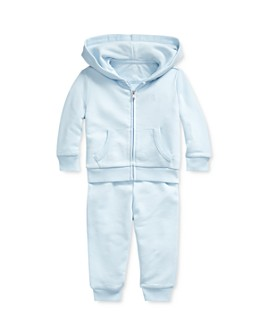 Ralph Lauren - Boys' Zip Hoodie & Jogger Pants Set - Baby