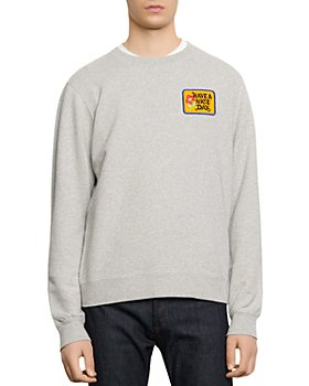 "Sandro - ""Have a Nice Day"" Embroidered Sweatshirt"