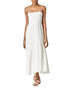 Joie - Jailene Smocked Crinkled Dress