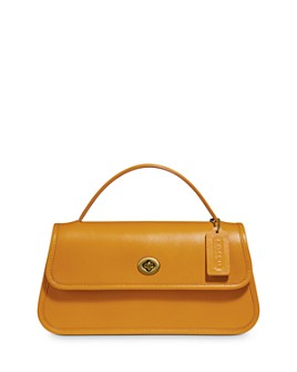 COACH - 1941 Turnlock Small Leather Clutch