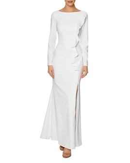 Laundry by Shelli Segal - Ruffled Gown