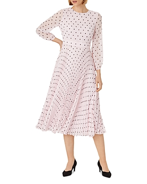 Selena Floral Print Midi Dress