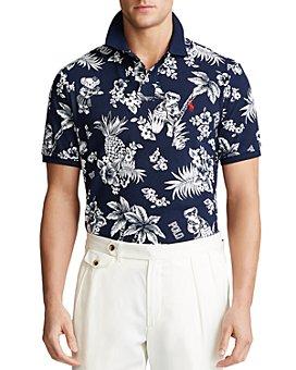 Polo Ralph Lauren - Custom Slim Fit Tropical Polo Bear Shirt