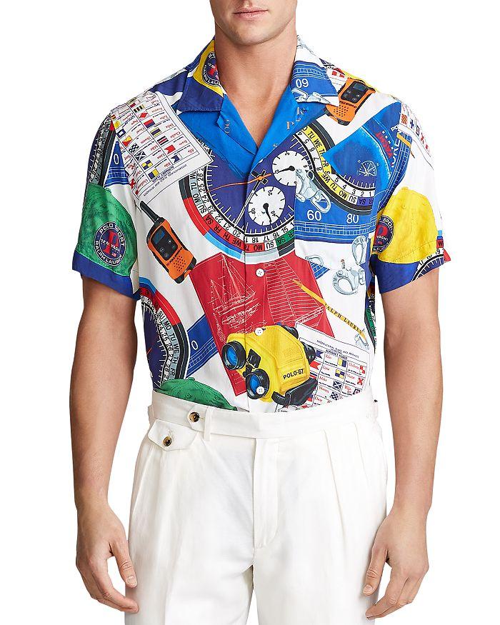 Polo Ralph Lauren - Polo Sport Graphic-Print Classic Fit Camp Shirt