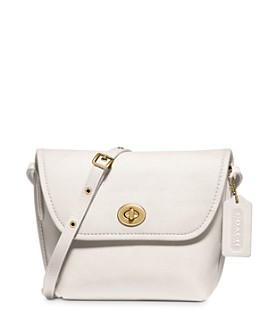 COACH - Turnlock Mini Leather Pouch Crossbody - 100% Exclusive