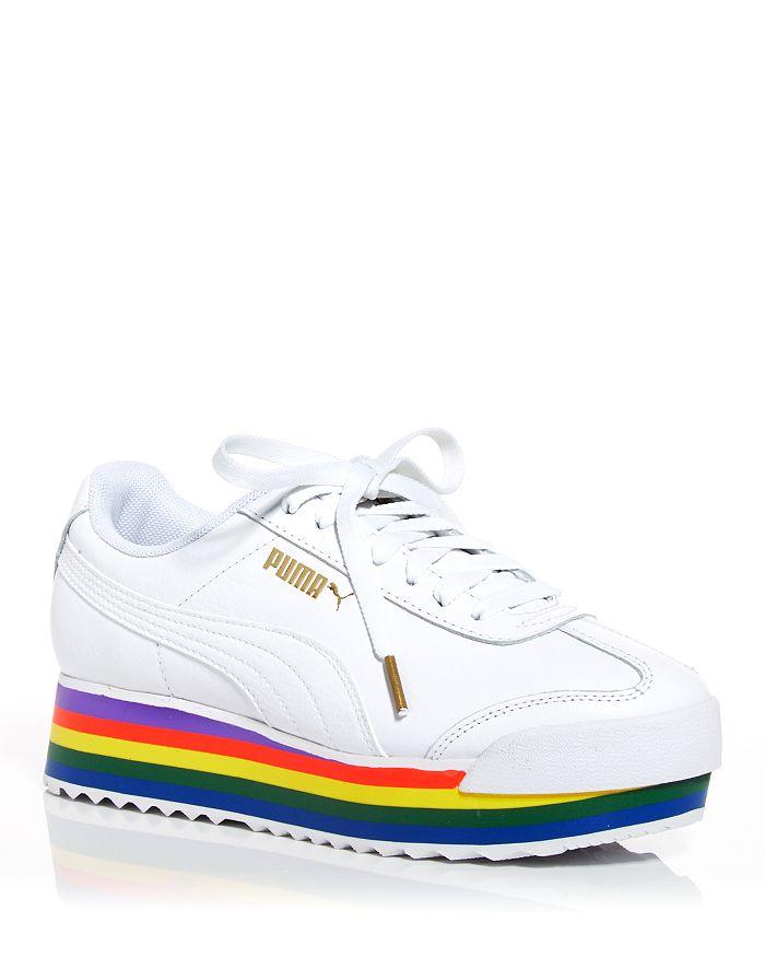 PUMA - Women's Roma Amor Rainbow Platform Sneakers
