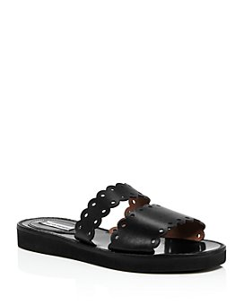 Tabitha Simmons - Women's Akela Double-Strap Slide Sandals