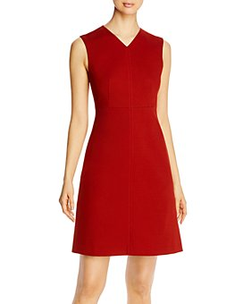 BOSS - Divalyn V-Neck Jersey Dress - 100% Exclusive