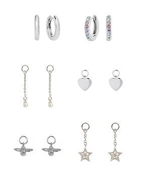 Olivia Burton - House of Huggies Hoop Earrings Gift Set in Sterling Silver