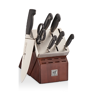 Zwilling J.a. Henckels Four Star Self-Sharpening 8-Piece Knife Block Set