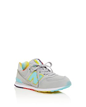 New Balance - Girls' Camp 574 Low-Top Sneakers - Big Kid