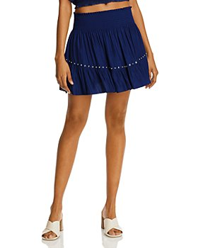 Ramy Brook - Embellished Ruffled Mini Skirt - 100% Exclusive