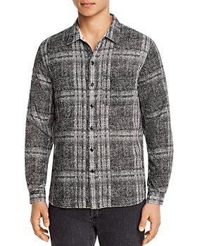 John Varvatos Star USA - Neil Cotton Reversible Regular Fit Button-Down Shirt