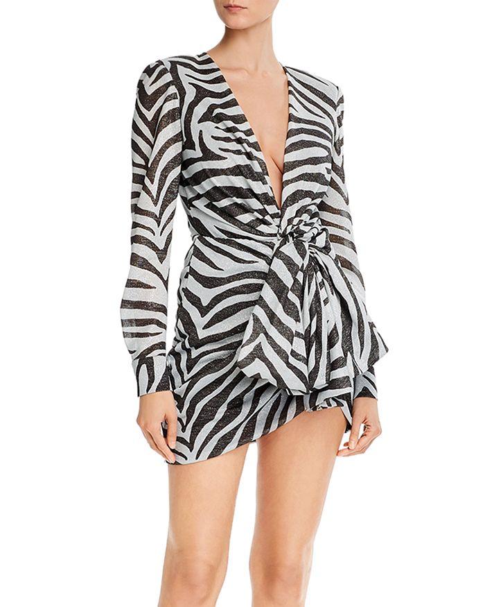 Redemption - Zebra Print Mini Dress