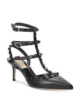 Valentino Garavani - Women's Rockstud Cage Pointed Toe Pumps