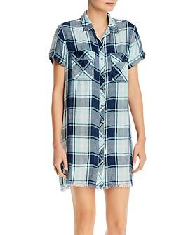 Billy T - Short-Sleeve Button-Up Dress