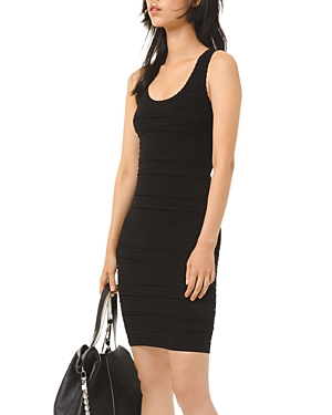Michael Michael Kors Striped-Texture Dress
