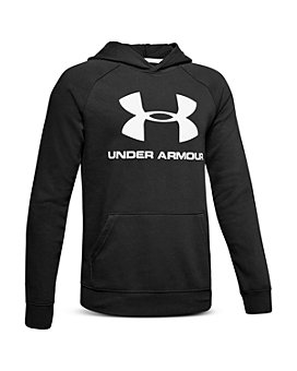 Under Armour - Boys' Logo Fleece Hoodie - Big Kid