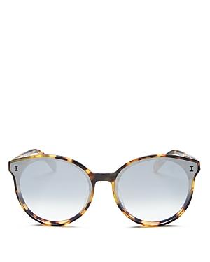 Illesteva Women's Helen Cat Eye Sunglasses, 65mm