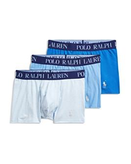 Polo Ralph Lauren - Cotton Stretch 4D-Flex Lightweight Trunks, Pack of 3