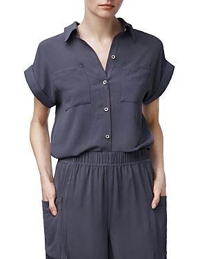 b new york Patch-Pocket Shirt