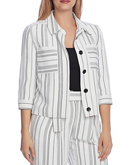 VINCE CAMUTO - Striped Jacket