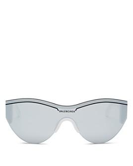 Balenciaga - Unisex Round Shield Sunglasses, 99mm