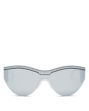 Balenciaga Unisex Round Shield Sunglasses, 99mm-Jewelry & Accessories