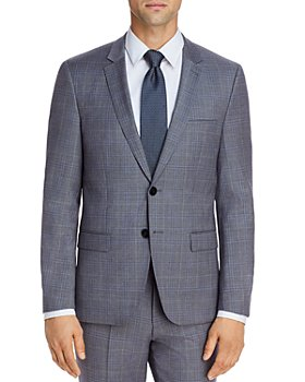 HUGO - Astian Tonal Plaid Extra Slim Fit Suit Jacket