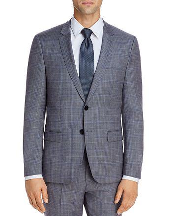 HUGO - Astian Tonal Plaid Extra Slim Fit Suit Jacket