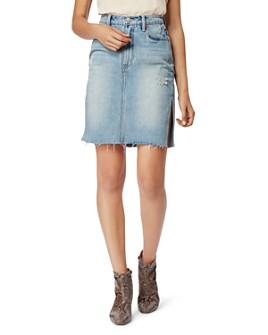 Habitual - Willa Double-Slit Denim Skirt