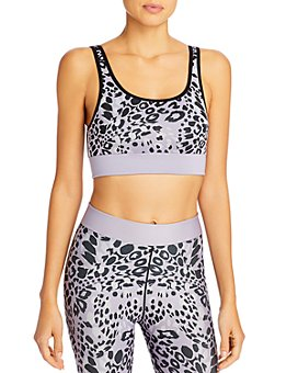 COR designed by Ultracor - Mixed-Print Sports Bra