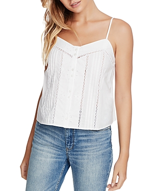 Image of 1.state Button-Front Cotton Camisole