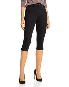 HUE - Ultra Soft Denim High Waist Short Capri Leggings