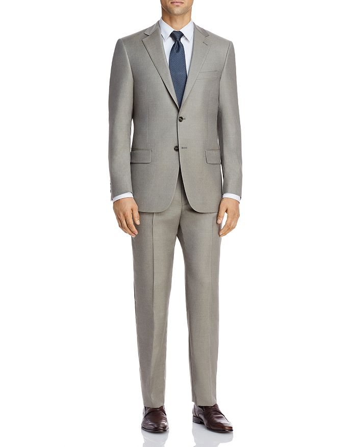 Hart Schaffner Marx - New York Solid Classic Fit Suit